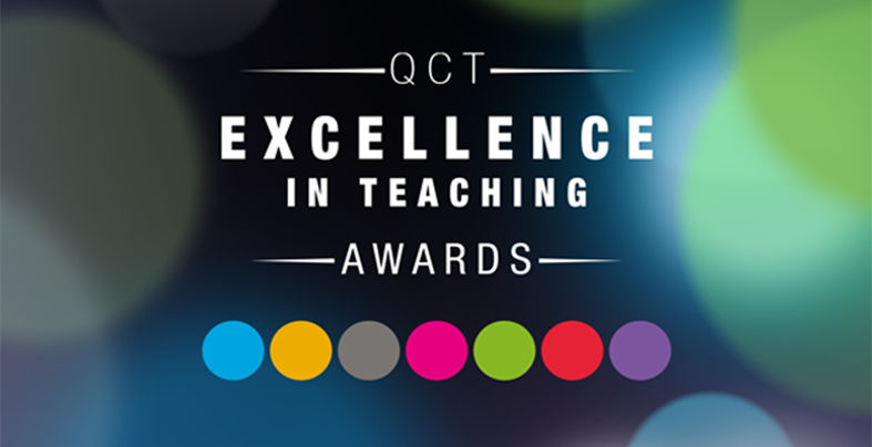QCT Excellence in Teaching Award finalist and nominators