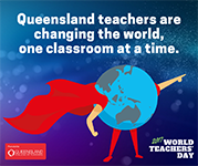 QCT World Teachers Day Facebook news feed graphic 1