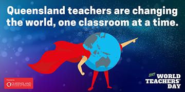 QCT World Teachers Day Twitter post graphic 1