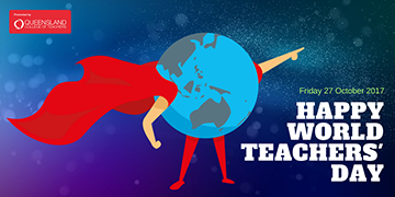 QCT World Teachers Day Twitter post graphic 2