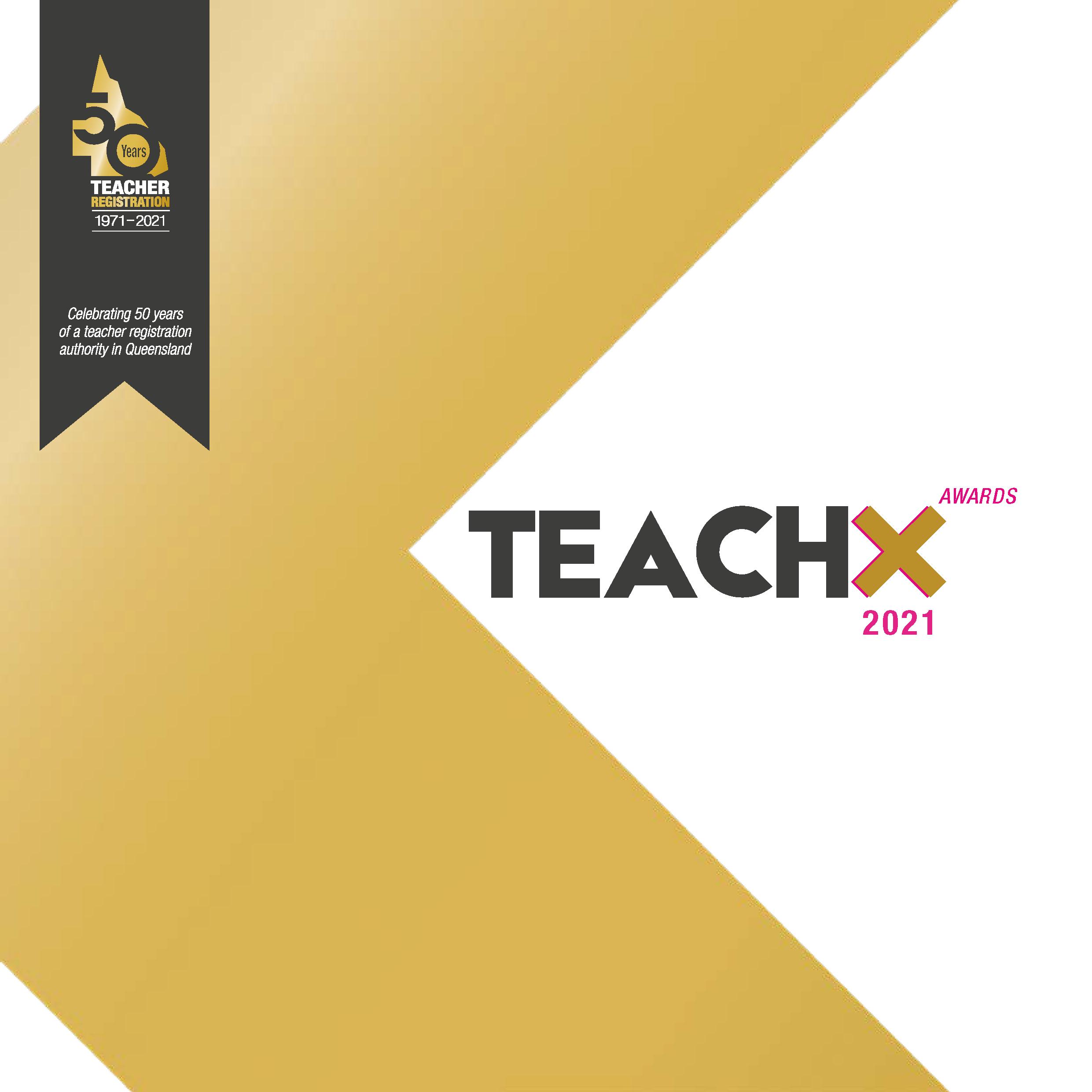 2021 TEACHX Awards program